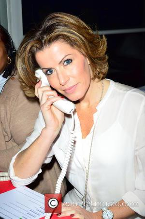 Natasha Kaplinsky - Celebrities supporting the DEC Philippines Typhoon Appeal during a telethon at BT Tower - London, United Kingdom...