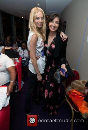 Poppy Delevingne and Daisy Lowe