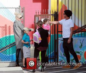 Gwen Stefani, Kingston Rossdale and Gavin Rossdale