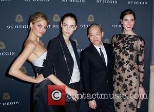 Jason Wu, Martha Hunt, Suzanne B and Hilary Rhoda