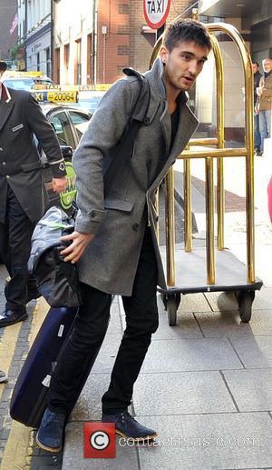 Tom Parker - The Wanted arrive at their Dublin hotel - Dublin, Ireland - Tuesday 19th November 2013