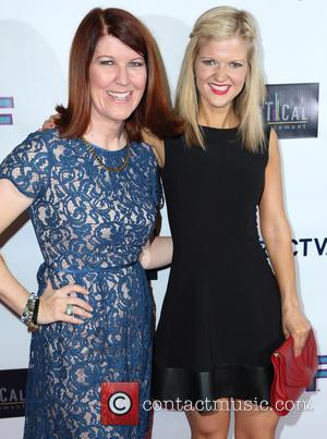 Kate Flannery and Arden Myrin - Premiere of 'G.B.F' held at Chinese 6 Theatres - Arrivals - Los Angeles, California,...