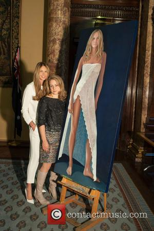 Elle Macpherson and Nicola Green - Credit: Dafydd Jones - London, United Kingdom - Tuesday 19th November 2013