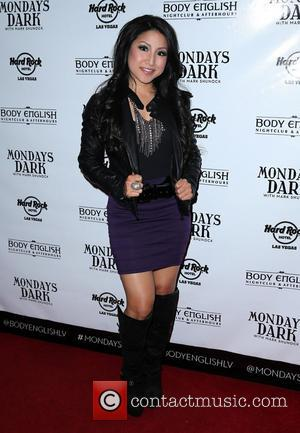 Jasmine Trias - Mondays Dark With Mark Shunock - Premiere Charity Event & Red Carpet to Benefit Opportunity Village at...