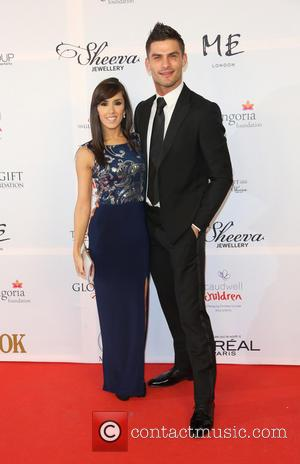 Aljaz Skorjanec and Janette Manrara - The 4th Annual Global Gift Gala held at ME hotel - Arrivals - London,...