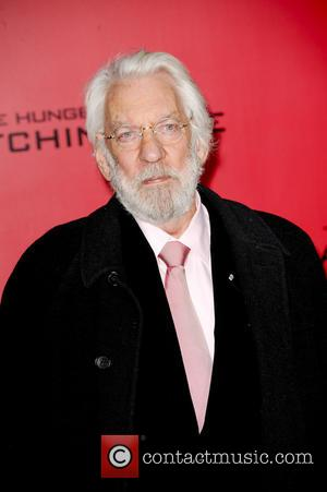 Donald Sutherland - The Hunger Games Catching Fire Premiere - Los Angeles, California, United States - Tuesday 19th November 2013