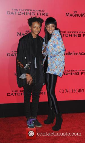 Willow Smith and Jaden Smith - The Hunger Games Catching Fire Premiere - Los Angeles, California, United States - Tuesday...