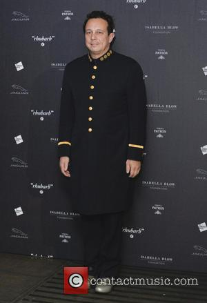 Detmar Blow - Private viewing of 'Isabella Blow: Fashion Galore!' exhibit at Somerset House - Arrivals - London, United Kingdom...