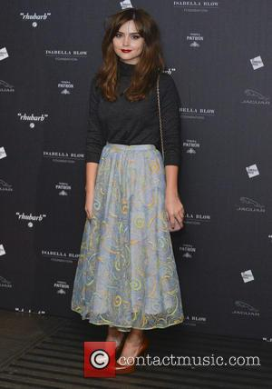 Jenna-Louise Coleman - Private viewing of 'Isabella Blow: Fashion Galore!' exhibit at Somerset House - Arrivals - London, United Kingdom...