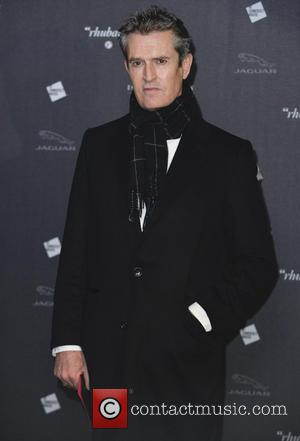 Rupert Everett - Private viewing of 'Isabella Blow: Fashion Galore!' exhibit at Somerset House - Arrivals - London, United Kingdom...
