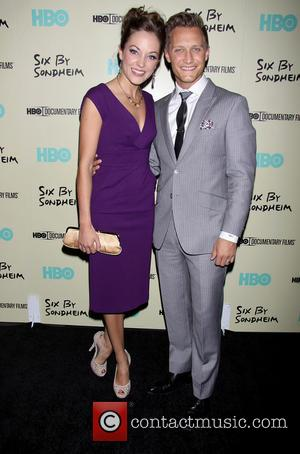 Laura Osnes and Nathan Johnson - The New York Premiere of the HBO documentary Six By Sondheim, held at the...