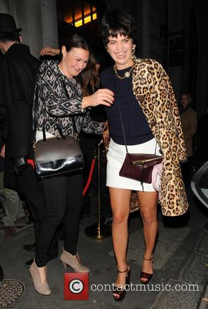 Pixie Geldof - 'Steam & Rye' - restaurant launch party - London, United Kingdom - Tuesday 19th November 2013