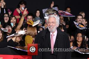 Donald Sutherland Hopes The Hunger Games Will Bring Political Change
