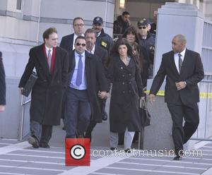 Teresa Giudice and Joe Giudice - The Giudices arrive at Federal Court to face new charges - Newark, New York,...