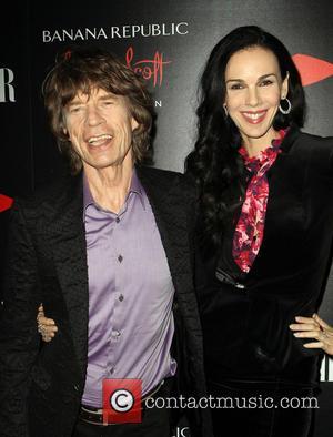 Mick Jagger, L'Wren Scott, Chateau Marmont