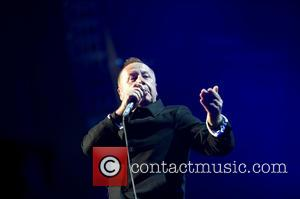 Jim Kerr - Simple Minds performing in concert held at the Heineken Music Hall - Amsterdam, Netherlands - Wednesday 20th...