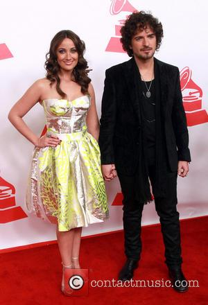 Karla Monroig and Tommy Torres