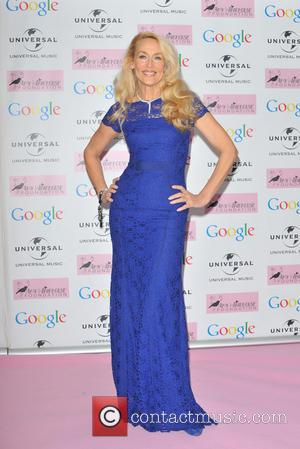 Jerry Hall - Amy Winehouse foundation Ball held at the Dorcester - Arrivals. - London, United Kingdom - Wednesday 20th...