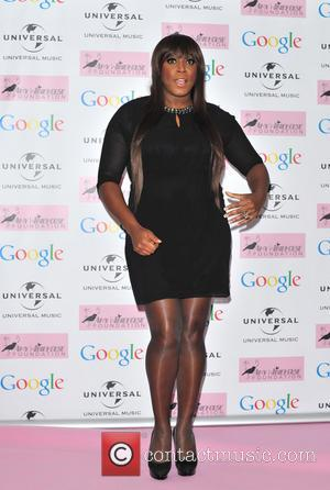 Mica Paris - Amy Winehouse foundation Ball held at the Dorcester - Arrivals. - London, United Kingdom - Wednesday 20th...