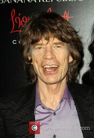 Mick Jagger - Banana Republic, L'Wren Scott And Krista Smith...