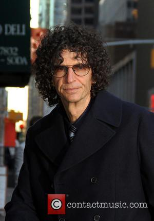 Howard Stern - Celebrities outside the Ed Sullivan Theater for the Late Show With David Letterman - New York, United...