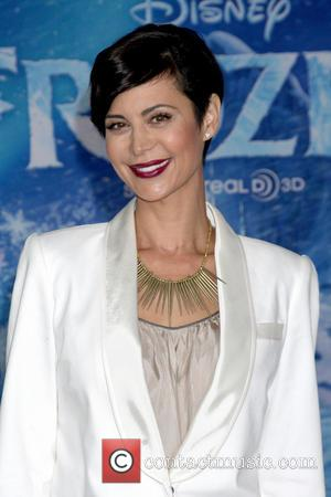 Catherine Bell - Frozen World Premiere at El Capitan Theater, attended by scores of celebrities and their families - Los...