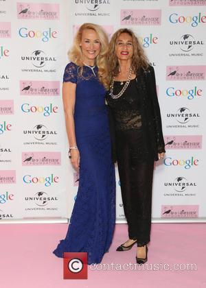 Jerry Hall and Guest