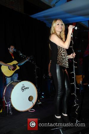 Michelle Hardwick - Emmerdale cast members performing on stage at the Bliss Charity Night in Leeds - Leeds, United Kingdom...