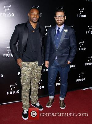 Tyson Beckford - RevolutionWear hosts its FRIGO® pop-up store experience in the Meatpacking District - New York City, United States...