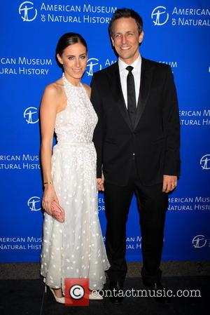 Seth Meyers and Alexi Ashe - American Museum of Natural History's 2013 Museum Gala at American Museum of Natural History...