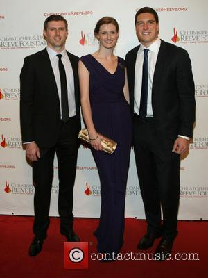 Matthew Reeve, Alexandra Reeve Givens and Will Reeve