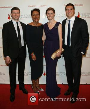 Matthew Reeve, Robin Roberts, Alexandra Reeve Givens and Will Reeve