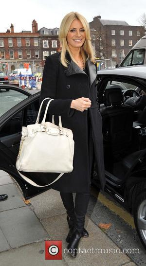 Tess Daly - Strictly Come Dancing presenter Tess Daly seen leaving the Shelbourne Hotel - Dublin, Ireland - Thursday 21st...