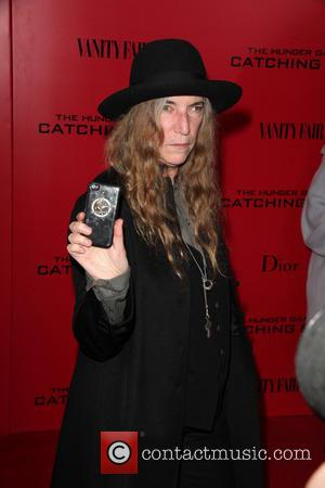 Patti Smith - Lionsgate Present the NY Special Screening of The Hunger Games Catching Fire at AMC Lincoln Square Theater...