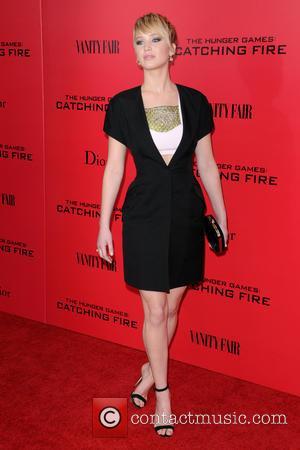 Jennifer Lawrence, Catching Fire New York Screening