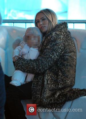 Petra Ecclestone and Lavinia Stunt - Tamara Ecclestone and husband Jay Rutland enjoy an evening at Winter Wonderland in Hyde...