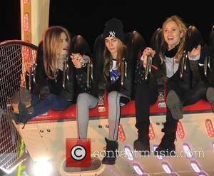 Georgia May Jagger, Cara Delevingne and Suki Waterhouse
