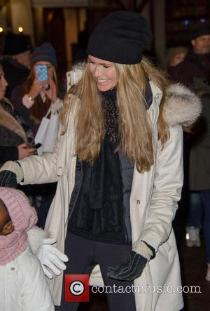 Elle Macpherson - Winter Wonderland VIP Launch in Hyde Park - London, United Kingdom - Thursday 21st November 2013