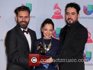 Natalia Lafourcade, Juan Luis Covarrubias and Gonzalo Ferrari