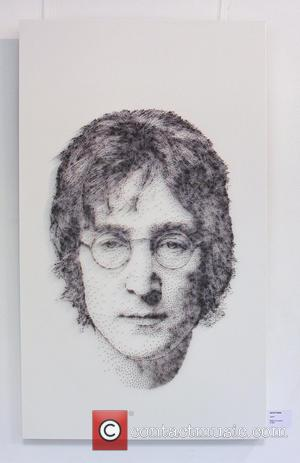 John Lennon - Who'd have thought that fine art could be created out of something as butch as a hammer...