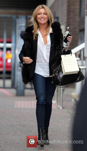 Tina Hobley - Tina Hobley outside the itv studios - London, United Kingdom - Friday 22nd November 2013