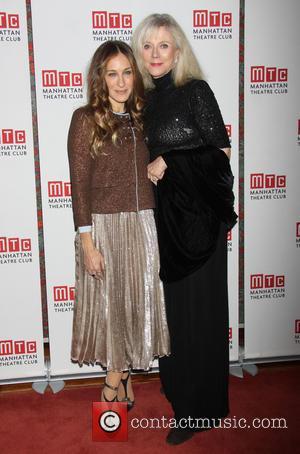 Sarah Jessica Parker and Blythe Danner