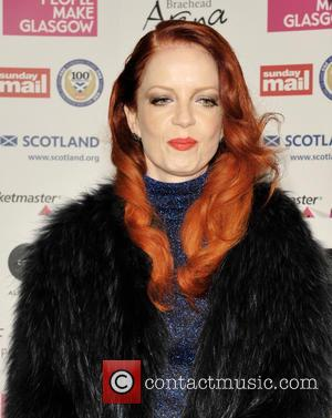 Shirley Manson - Shirley Manson arrives on the red carpet at the Nordoff-Robbins Scottish Music Awards in Glasgow. - Glasgow,...