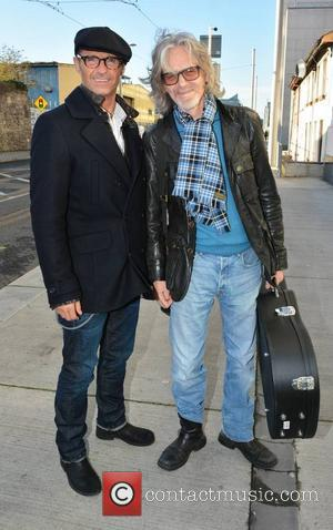 Marti Pellow and Graeme Clark - Members of Wet Wet Wet (Neil Mitchell, Marti Pellow, Tommy Cunningham, Graeme Clark) at...