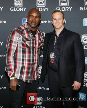 Evander Holyfield and Pierre Andurand