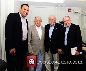 Dick Cheney, Jose Mallea, President Of Miami Dade College Eduardo J. Padron and Dr. Jonathan Reine