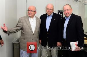 Dick Cheney, President Of Miami Dade College Eduardo J. Padron and Dr. Jonathan Reine