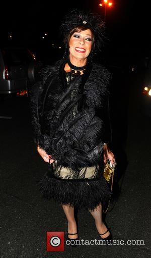 Denise Welch - Denise Welch's and Tim Healy's Gatsby Themed Gem Appeal Winter Ball - Manchester, United Kingdom - Saturday...