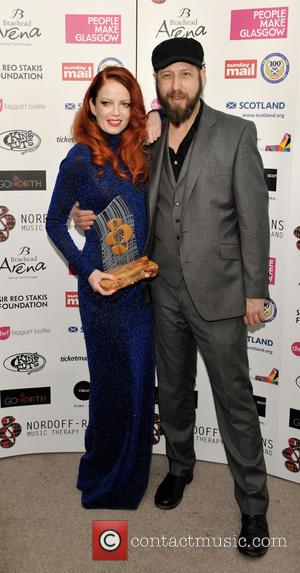 Shirley Manson and Martin Metcalfe