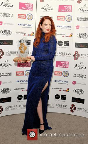 Shirley Manson - Shirley Manson with the Sir Reo Stakis Foundation Innovation award at the Nordoff-Robbins Scottish Music Awards in...